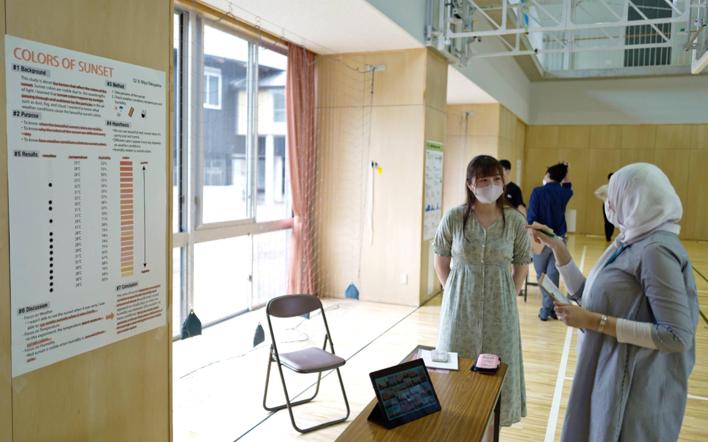 2年のSTEMフェアが開催されました。